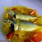 Ikan Kembung Masak Pindang paling mudah, simple, ringkas dan cepat!