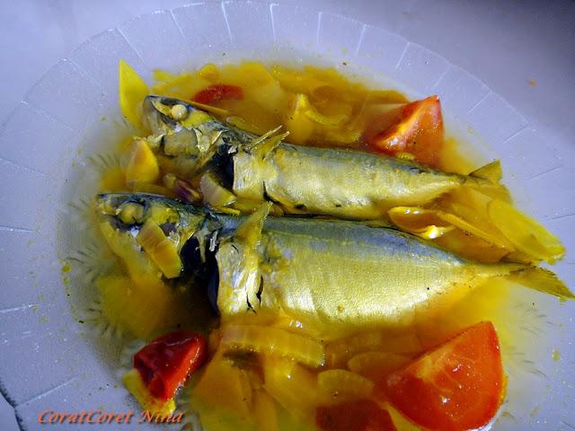 Ikan Kembung Masak Singgang Paling Simple Mudah Cepat