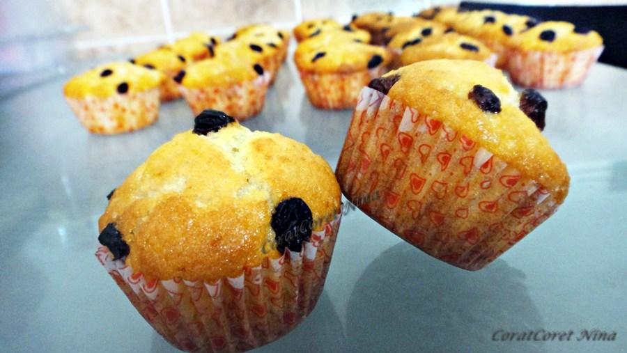 Resepi Tips membuat muffin vanilla sedap mudah