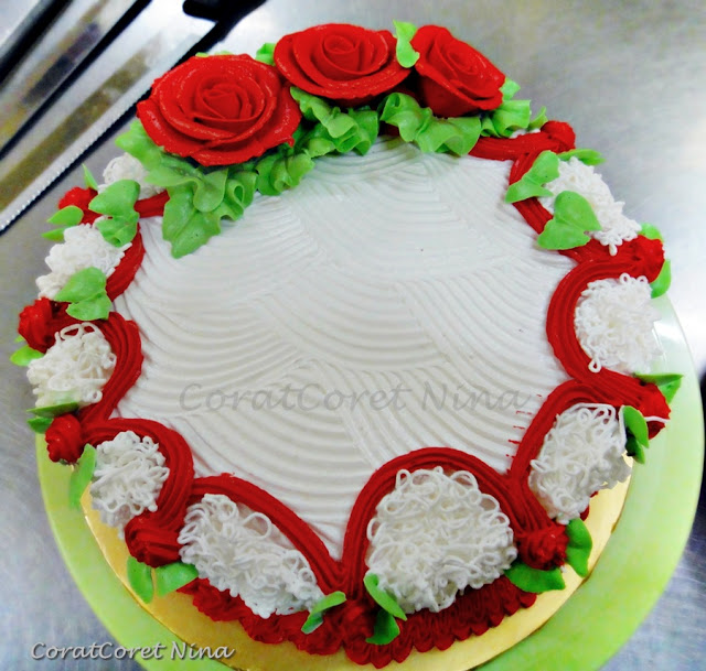 Butter Cake Paling Senang Cream Ising Deco mudah sedap