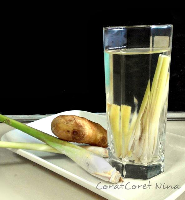 nak kurus minum air rebusan khasiat serai halia