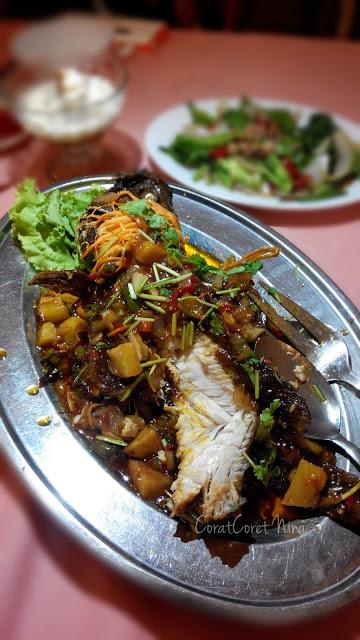 Restoran Rumah Thai Ikan Tiga rasa sedap