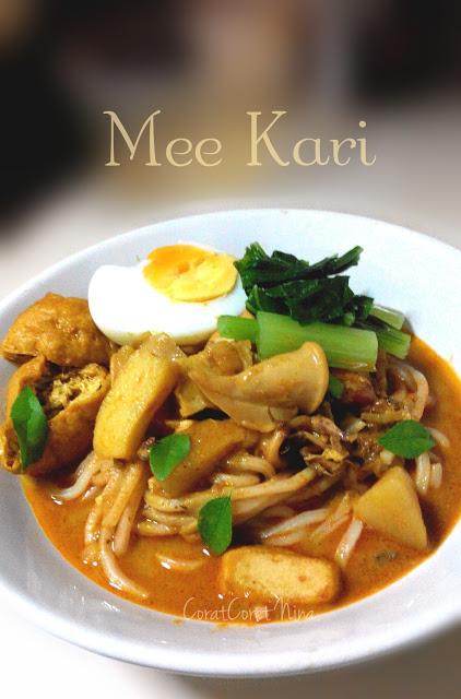 Resipi Open House Mee Kari Simple