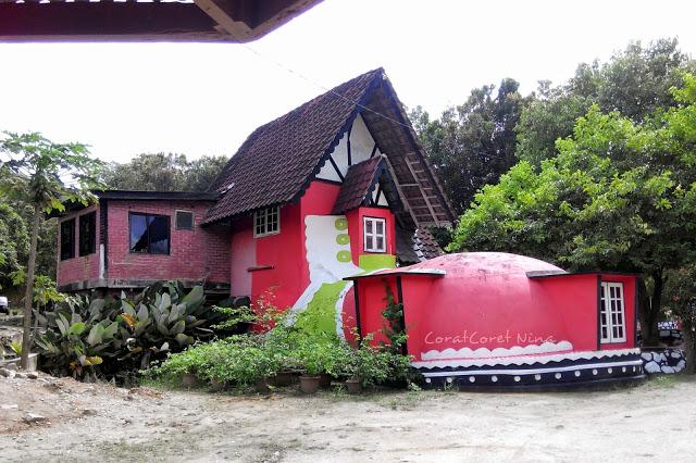 Bilik karaoke Agrofarmstay Melaka