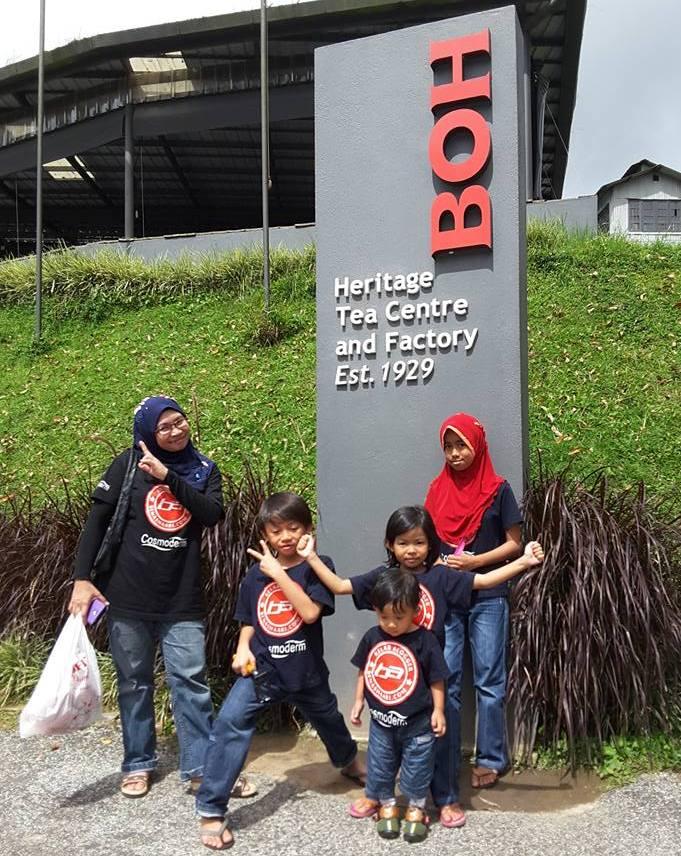 Cuti-cuti Malaysia BOH Factory. Rahsia Awet muda