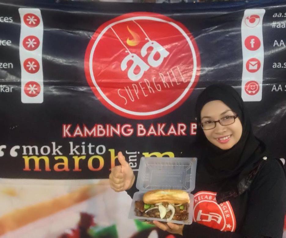 Kambing Bakar AA SUper Grill U5 Subang Bestari sedap