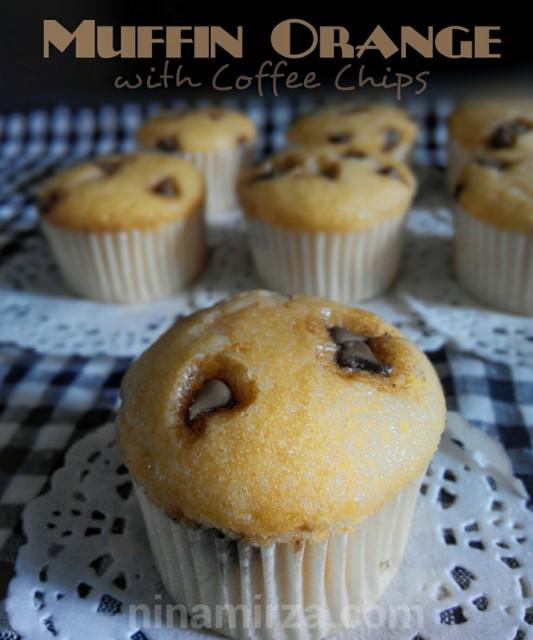 Menu-minum-petang-mudah-muffin-orange-with-coffee-chips