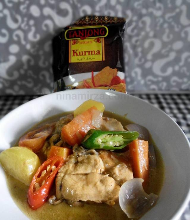 Resipi-KURMA-Ayam-Ala-TANJONG-sedap-cepat-masak