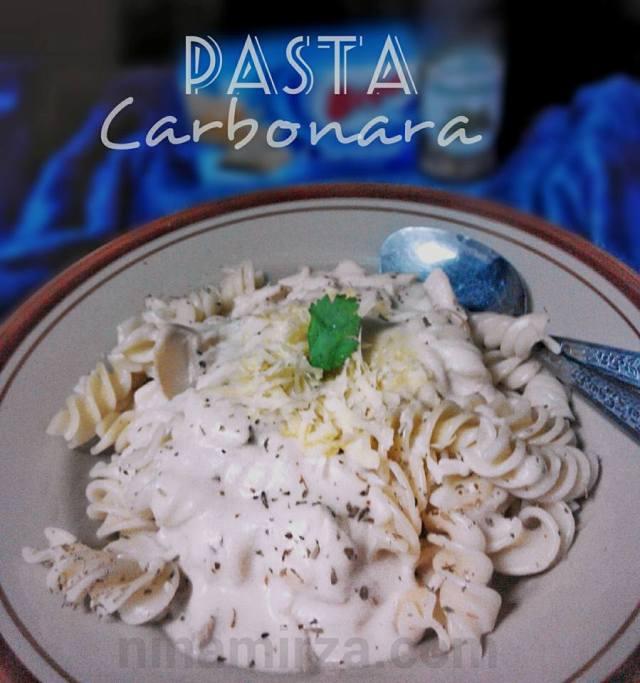 Resipi Pasta Carbonara