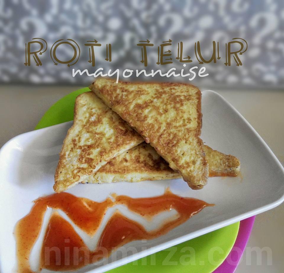Roti Telur Mayonnaise