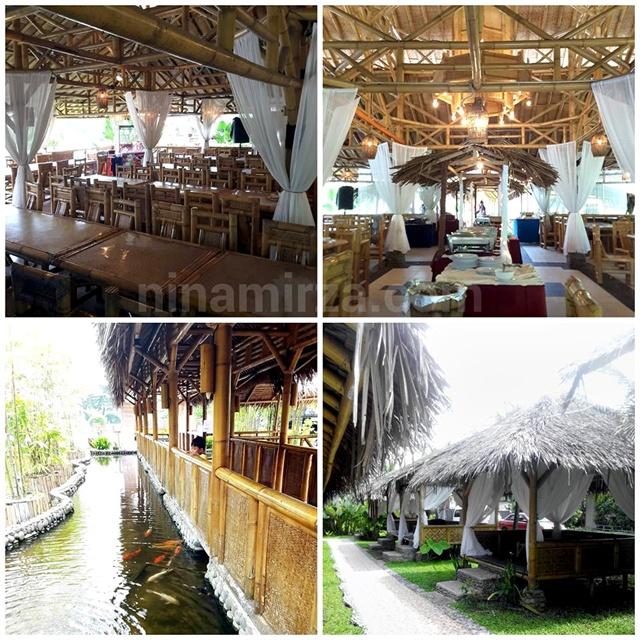 Lanscape Menarik buffet Ramadhan Istana Bambu