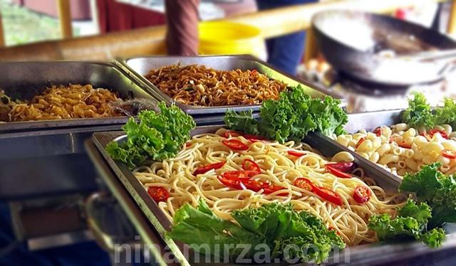 Western Pasta Spaghetti Buffet Ramadhan 2016 Istana Bambu