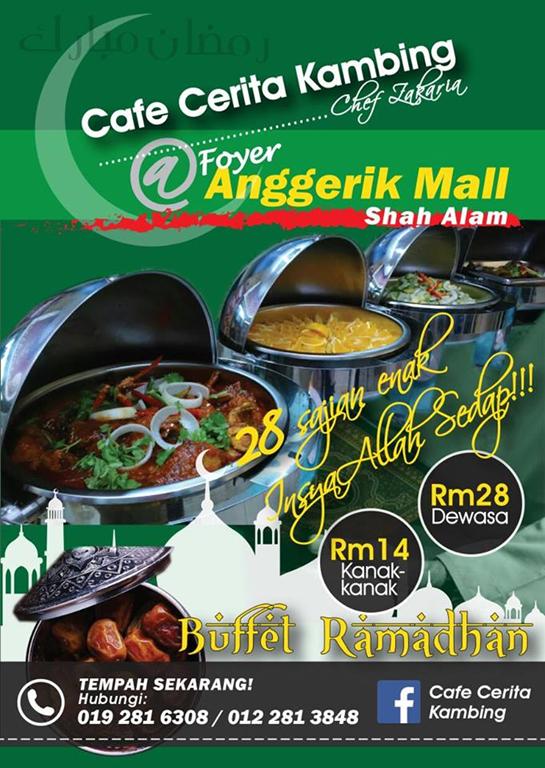 Cafe Cerita Kambing SEDAP sponsor Photoshoot KBBA9 Kelab Blogger Ben Ashaari