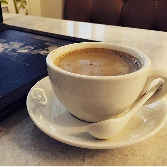 White Coffee sedap! Bahaya minum kopi ibu hamil