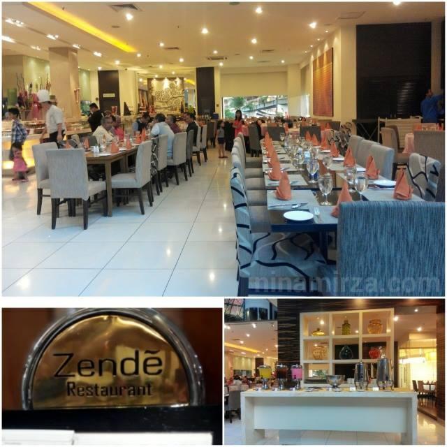 Zende Restaurant Seri Pacific Hotel KL