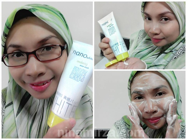 Nano White Step 1 Cleanser Cuci Muka Awakening Snow Wash Flawless Cerah Berseri