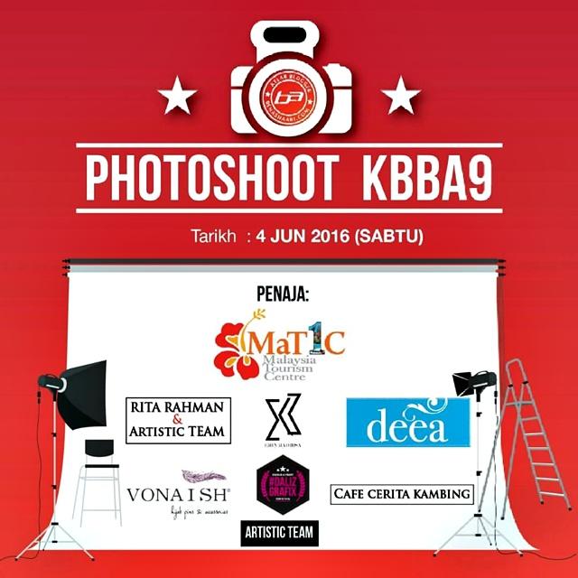 Dalizgrafix Printing Banner Matic Photoshoot KBBA9 Hari Raya