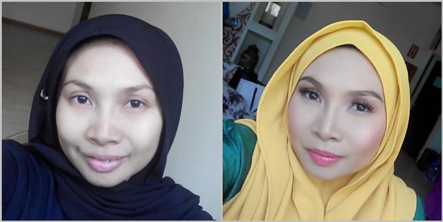 Photoshoot Kelab Blogger Ben Ashaari KBBA make up Mimie Zoll