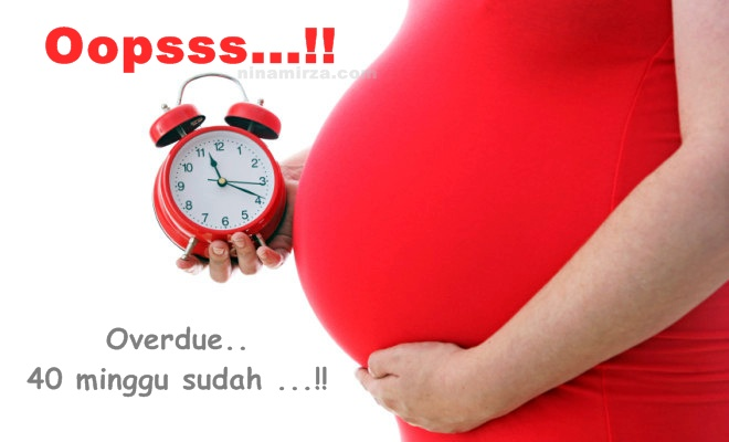 40 minggu hamil overdue
