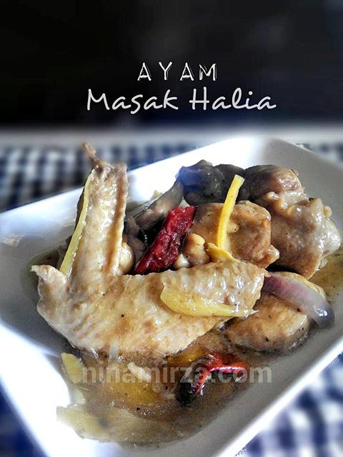 Ayam Masak Halia Mudah Sedap Cepat Simple Chinese Style