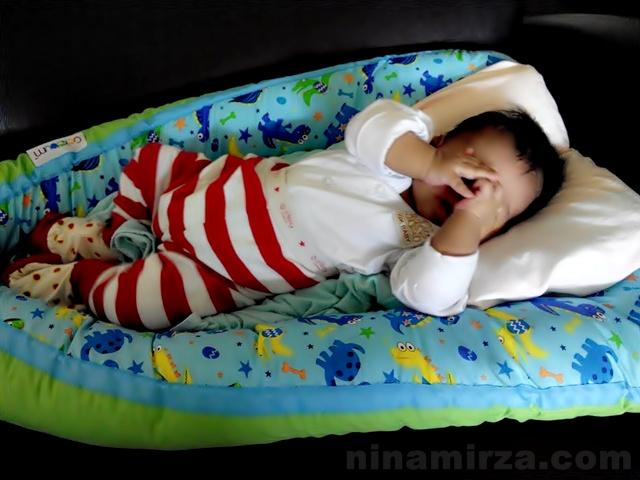 Cekebum Babynest 100% kekabu cotton 4 in 1 tilam bayi