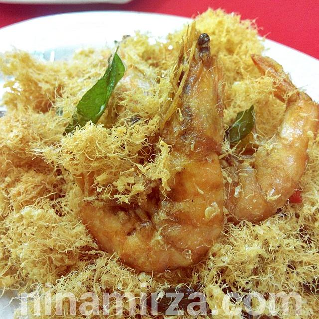 Chinese Muslim Food Style Sedap Best kat BLUE GINGER RESTORAN Taman Puncak Jalil