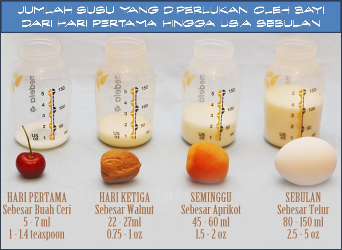Tips dan cara nak banyakkan SUSU IBU susu badan dengan berkesan