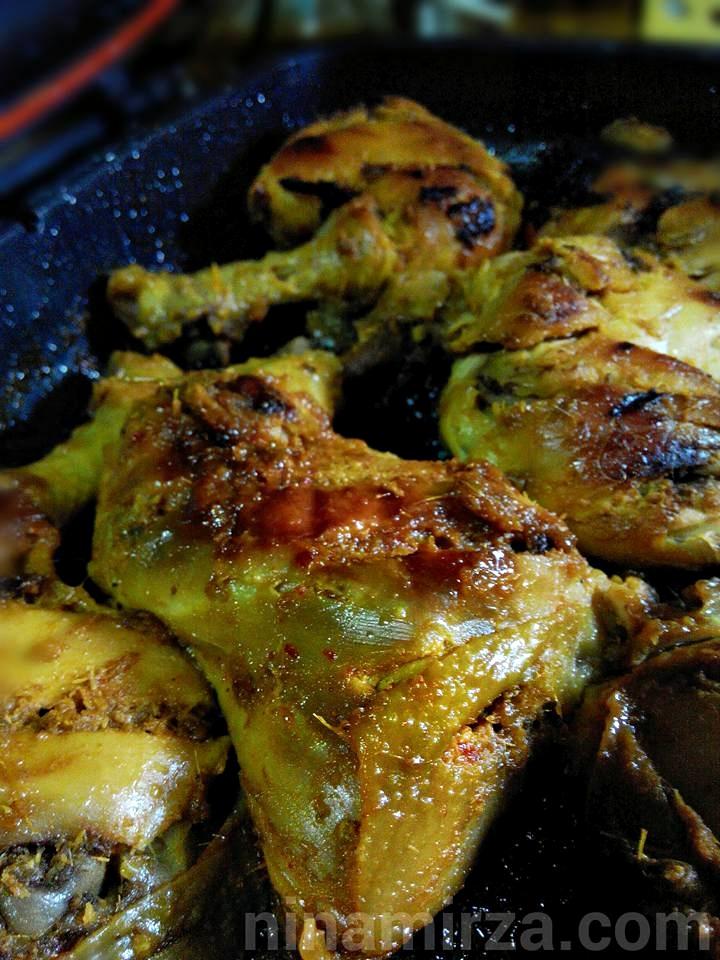 Ayam Bakar Berempah Mudah Sedap