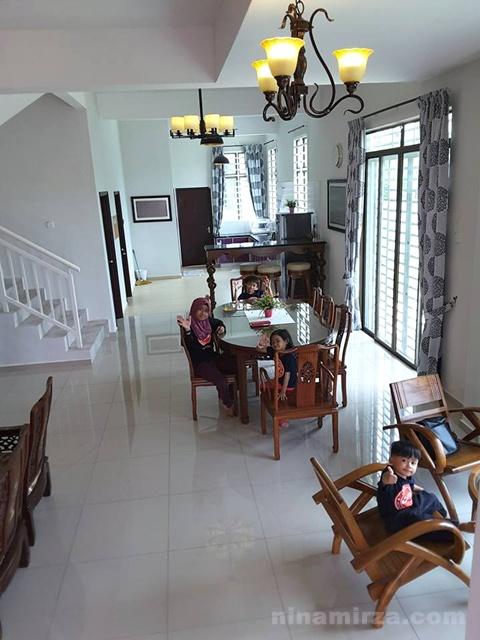 Homestay Idaman Villa Melaka terbaik bersih besar menarik