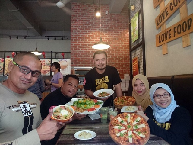 Kelab Blogger Ben Ashaari Food Review