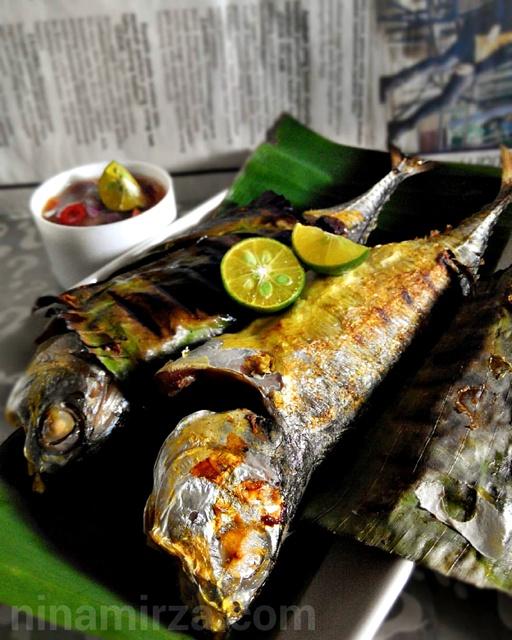 Ikan Cencaru Bakar Air Asam