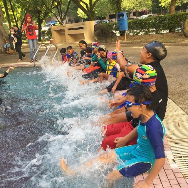 Kelas renang kanak-kanak KL Selangor