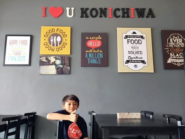 Konichiwa cafe bangi