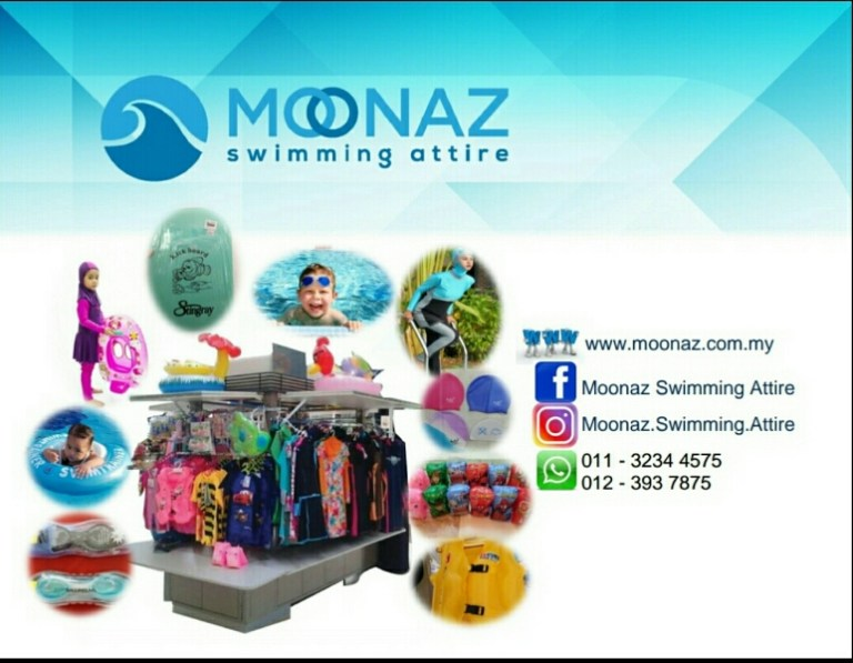 Peralatan renang Moonaz Swimming Attire