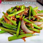 Resepi Asparagus Goreng Belacan