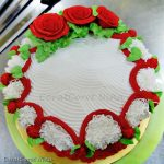 Butter Cake Simple & Cream Icing paling mudah dan sedap!