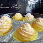 Cream Puff with Custard Cream….!! Walla~ Senang ajerr buat ni rupanya…..
