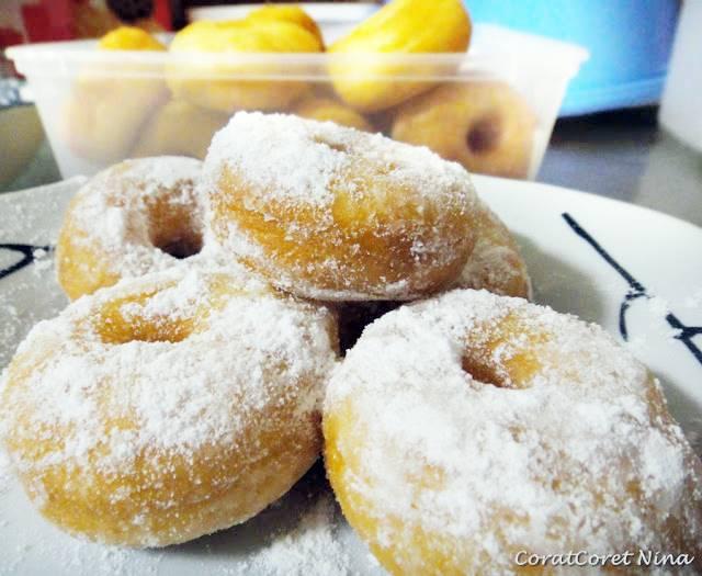 TIPS Resipi Donut Lembut Mudah