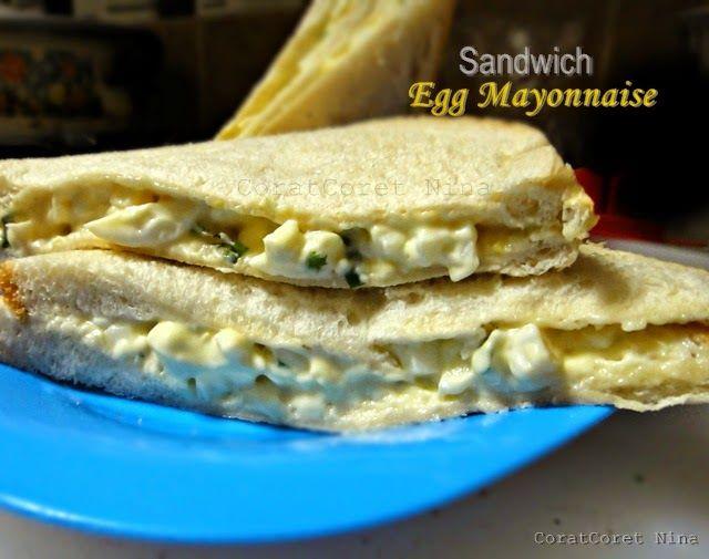 Sandwich Egg Mayonnaise Bekal Anak Sekolah BENTO