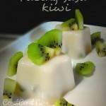 JUADAH BERBUKA PUASA : Dessert paling senang > PUDING SUSU KIWI