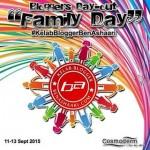 "Kelab Blogger Ben Ashaari  : Bloggers DayOut ""Family Day"" : 1st day aktiviti"
