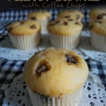 Menu minum petang | Orange Muffin with coffee chips