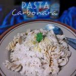 Anak susah makan nasi? Meh try cuba Resepi Pasta Carbonara …