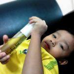 Cuaca panas antara punca baby kena ruam. Kesiannya…. | Habibi Oil terbaik!