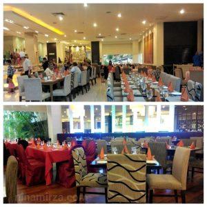 Layout Zender Restaurant Kemas Selesa Seri Pacific Hotel Buffet Ramadhan