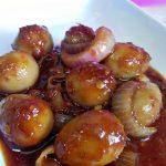 Resepi Sambal Tumis Telur Burung Puyuh … Meh baca tips rebus telur senang kupas dan cantik!