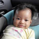 kali ni giliran baby Eilysa lak jadi co-pilot Nina