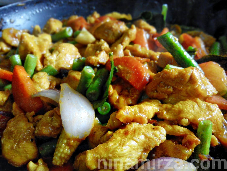 Resepi Ayam Goreng Kunyit Sedap Mudah
