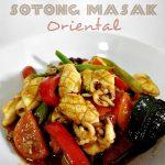 Sotong Masak Oriental sedap mudah