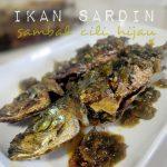 Ikan Goreng Berlada Sambal Cili Hijau Padang